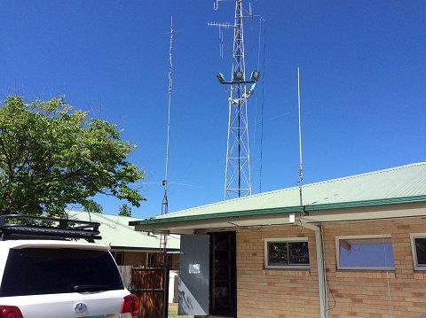 Armidale & District Amateur Radio Club-Cushcraft R7 Vertical